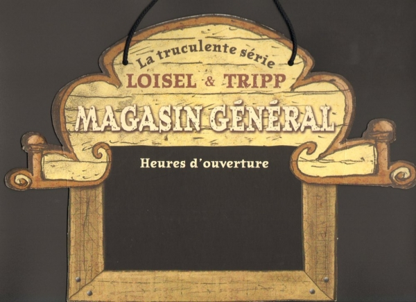 panneau horaire magasin site officiel de regis loisel. Black Bedroom Furniture Sets. Home Design Ideas