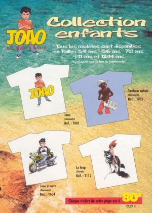 CATALOGUE JOAO CREATIONS COLLECTION ENFANTS