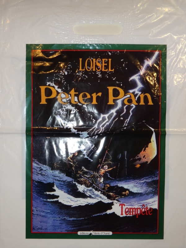 POCHE PLASTIQUE PETER PAN