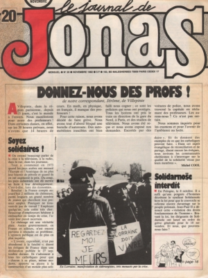 LE JOURNAL DE JONAS N°20