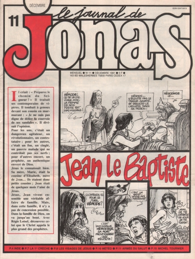 LE JOURNAL DE JONAS N°11
