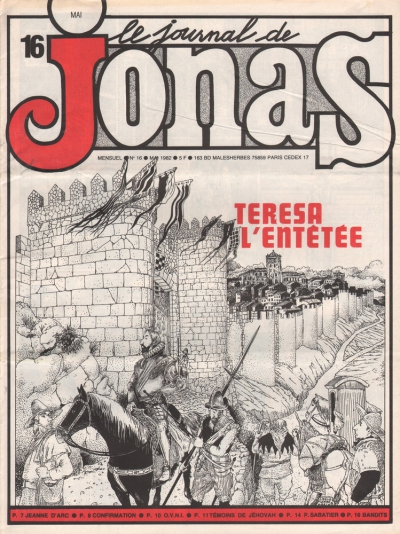 LE JOURNAL DE JONAS N°16