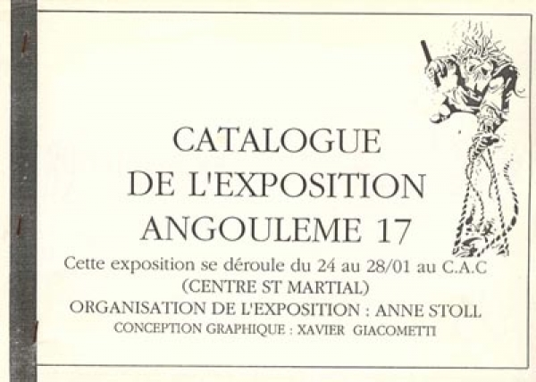 EXPO VENTS D'OUEST 89/90 A ANGOULEME