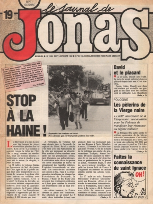 LE JOURNAL DE JONAS N°19