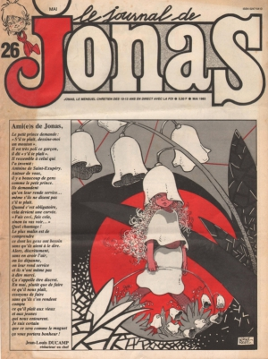 LE JOURNAL DE JONAS N°26