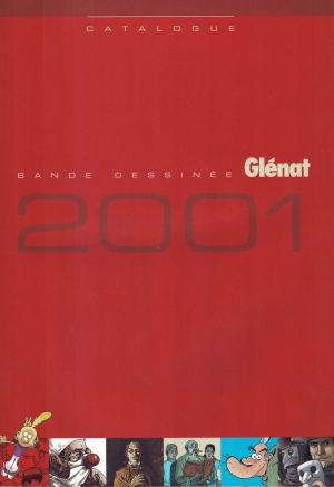 GLENAT CATALOGUE BD 2001