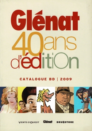 GLENAT CATALOGUE BD 2009