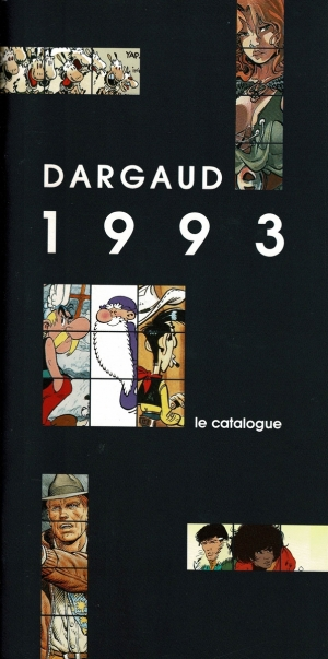 DARGAUD LE CATOLOGUE 1993