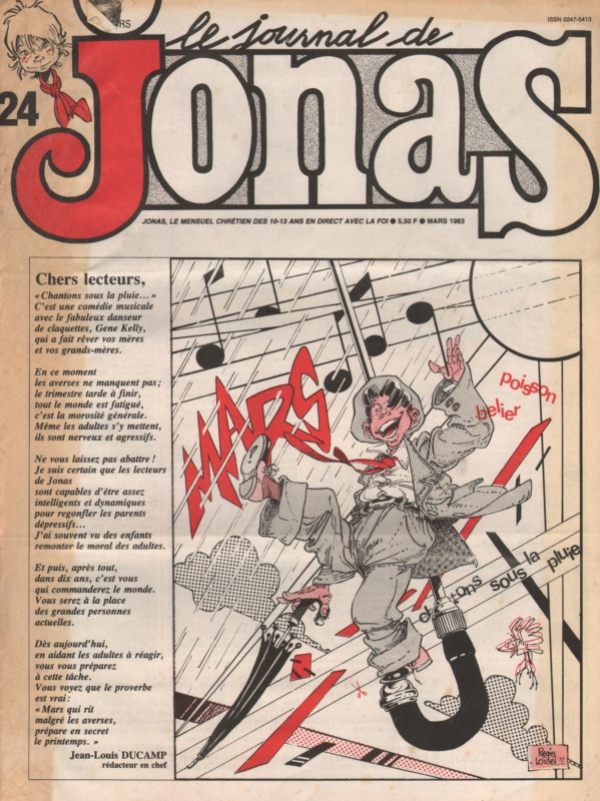 LE JOURNAL DE JONAS N°24