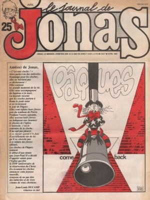 LE JOURNAL DE JONAS N°25
