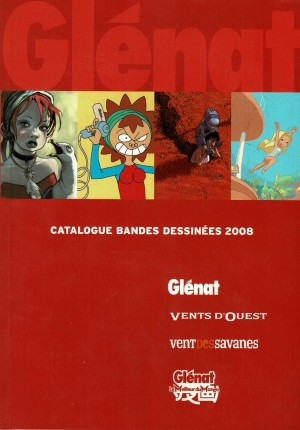 GLENAT CATALOGUE BD 2008