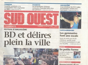 SUD OUEST 23/1/2004