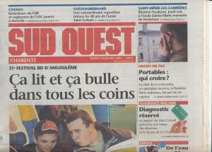 SUD OUEST 24/1/2004