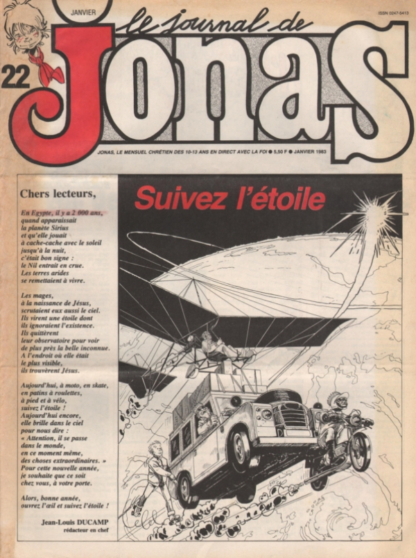 LE JOURNAL DE JONAS N°22