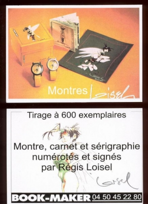 PROMO MONTRES CLOCHETTE BOOK-MAKER